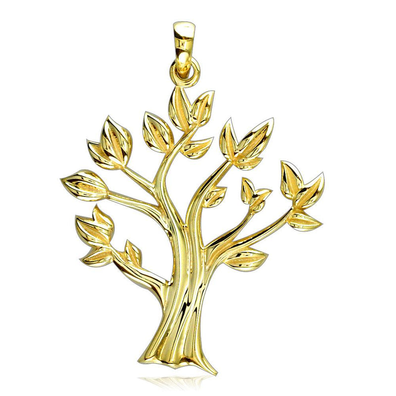 Tree Of Life Charm in 14K Yellow Gold