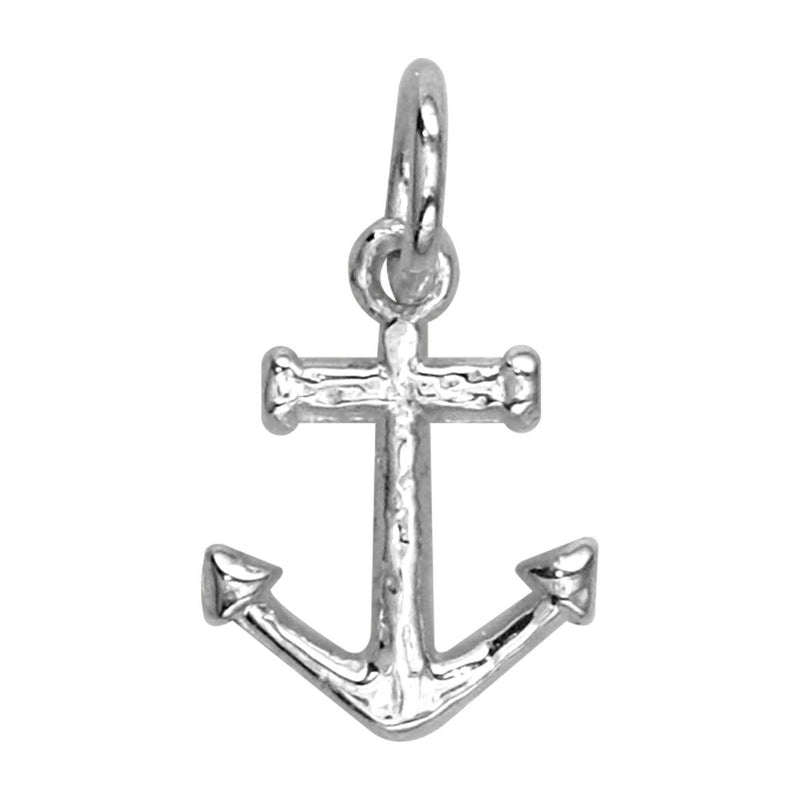 Mini Anchor Charm in Sterling Silver
