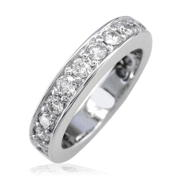 Matching Diamond Wedding Band, 1.20CT in 18K Yellow Gold