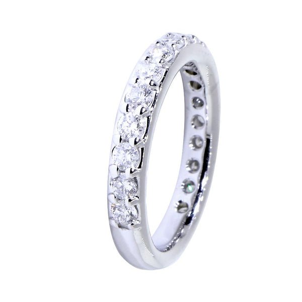 Matching Diamond Wedding Band, 1.10CT Total in 14k White Gold
