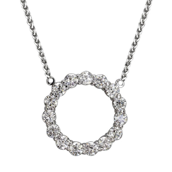 Diamond Circle Pendant P-K0007