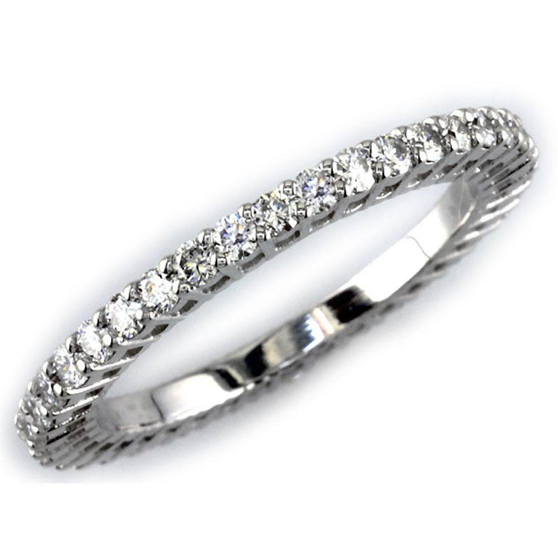 Round Diamonds Eternity Band E/W-K00148W-40