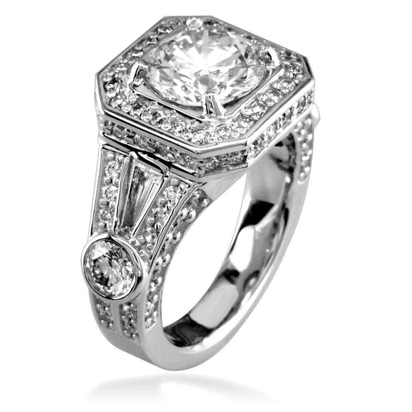 Diamond Engagement Ring E/W-K0108