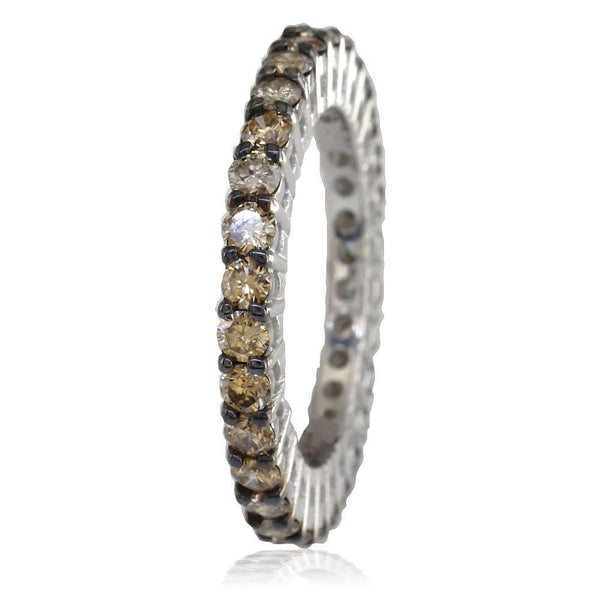 Chocolate Diamond Eternity Band E/W-K0238