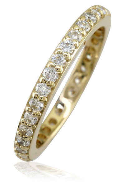 Round Diamonds Eternity Band in 14K, 0.70CT
