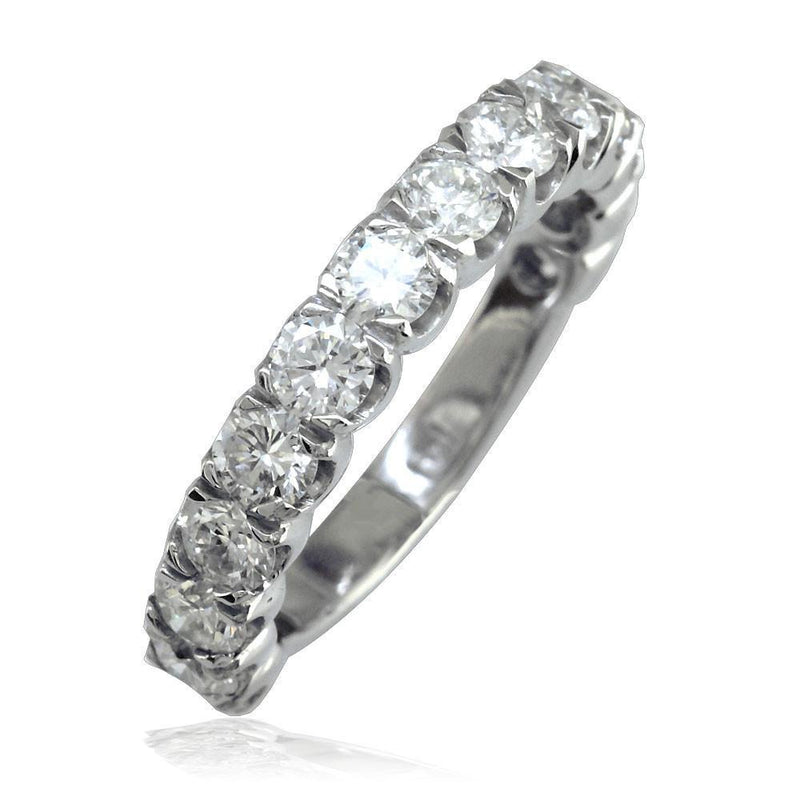 Matching Wedding Band in 14K Gold, 1.70CT