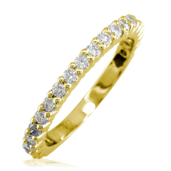 Diamond Band, 0.70CT in 14k Yellow Gold