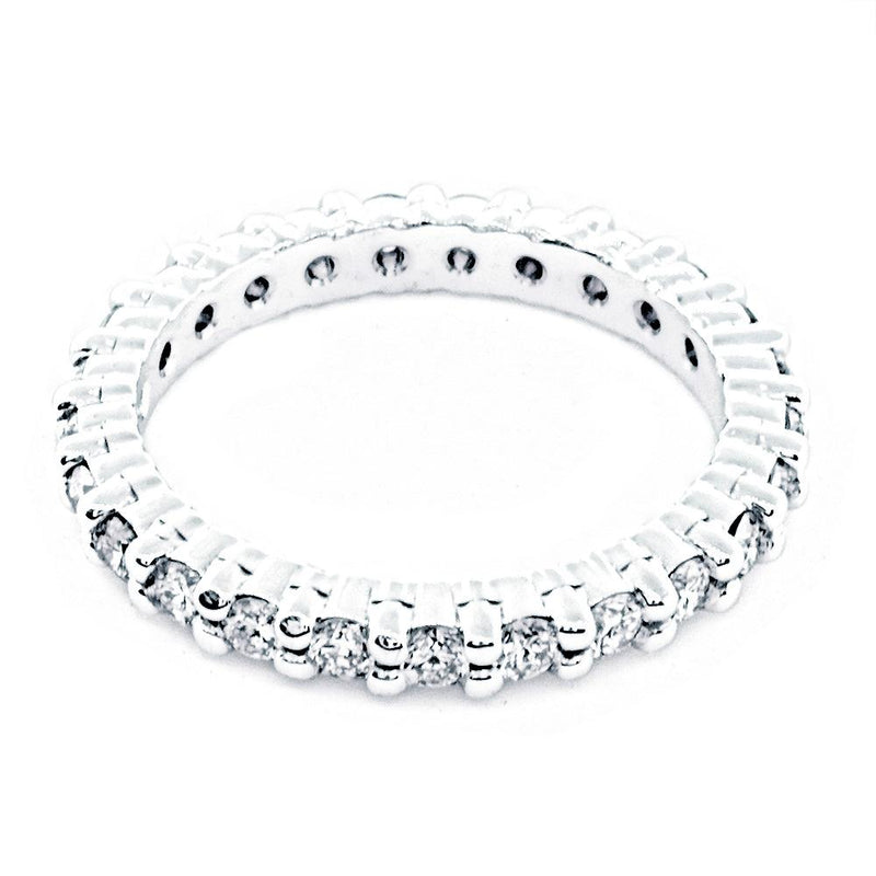 Diamond Eternity Band, 1.12CT in 14K White Gold