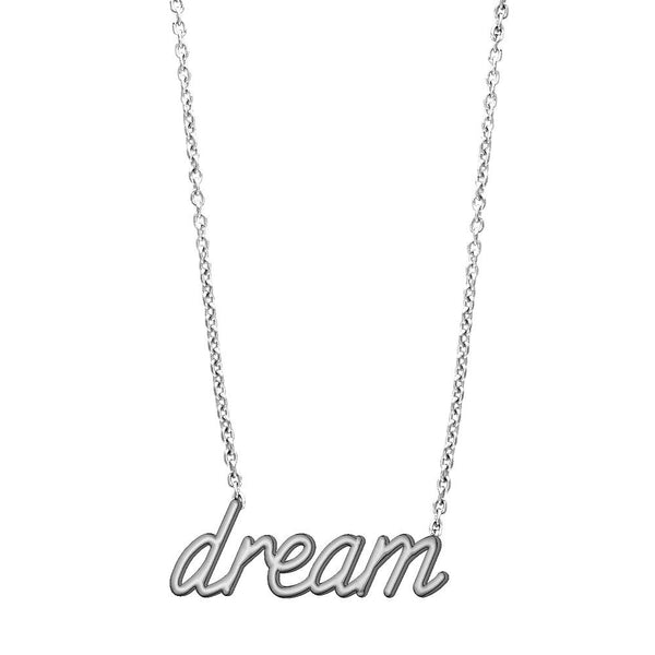 Dream Necklace in 14K White Gold