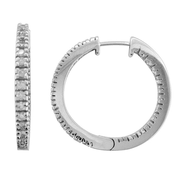 Diamond Hoops E-Z1077