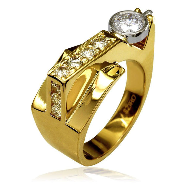 Contemporary Diamond Ring LR-Z1885