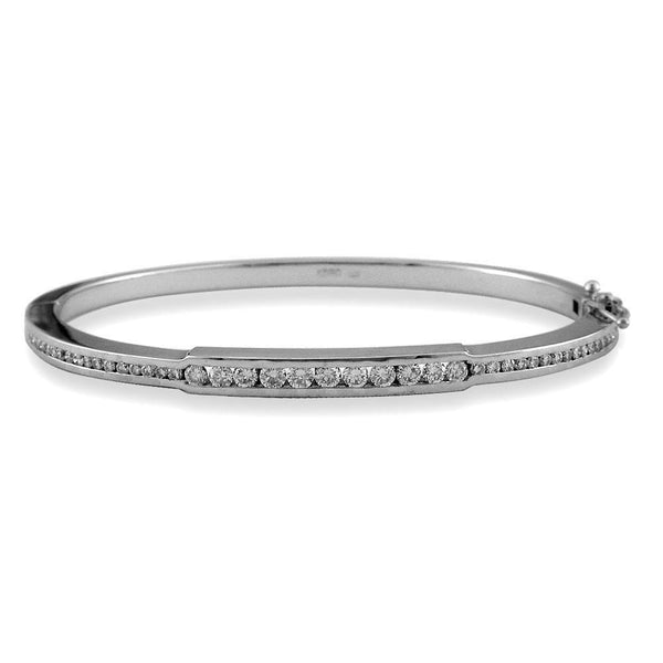Diamond Bangle Bracelet BR-Z2472