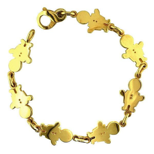 Medium Classic Kids Sziro Boys Charm Bracelet