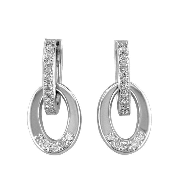 Diamond Oval and Hoops E-Z2818