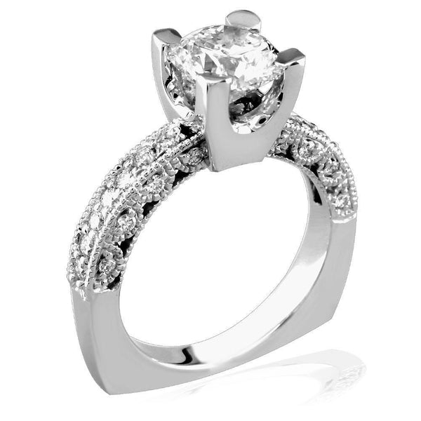 Diamond Engagement Ring E/W-Z3296E
