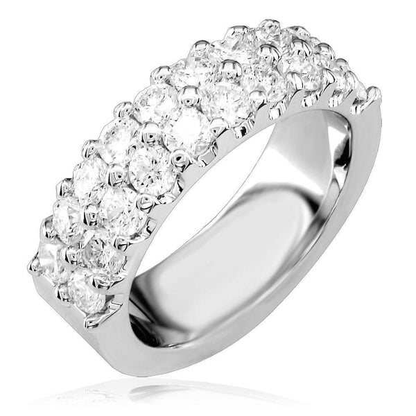 2 Row Diamond Ring LR-Z3443
