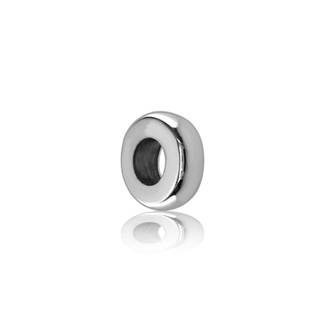 Sterling Silver Spacer, Roundel