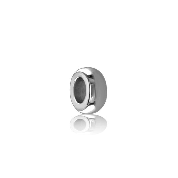 Small Sterling Silver Spacer, Roundel