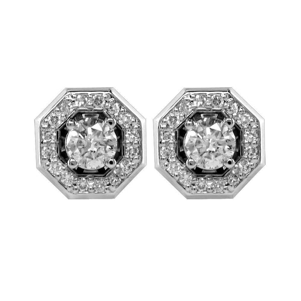 Diamond Earrings E-Z3566