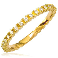 Small Diamond Eternity Band in 18K