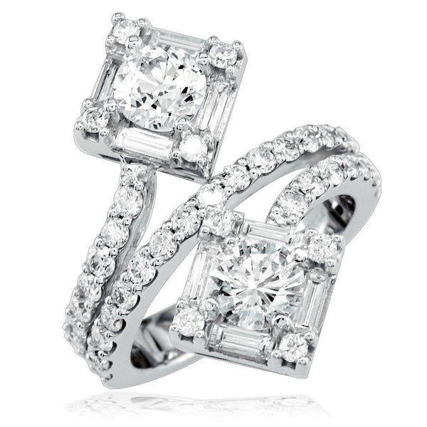 3 Row Diamond Ring LR-Z3593