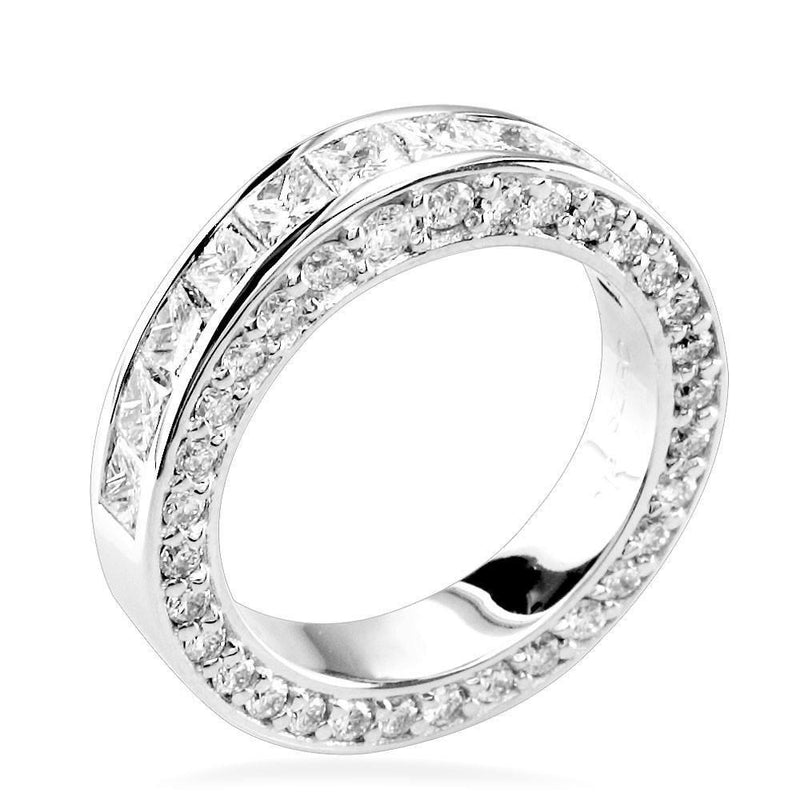Matching Diamond Wedding Band E/W-Z36928W