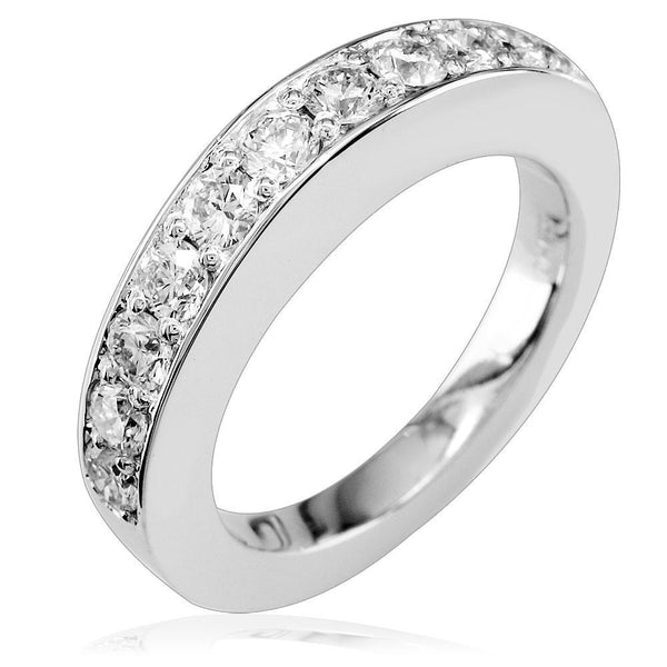 Diamond Band, Diamonds Half-Way, 0.90CT