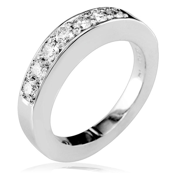 Diamond Wedding Band, 0.60CT