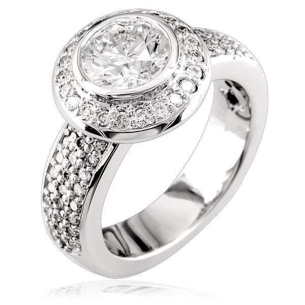 Diamond Engagement Ring E/W-Z3802