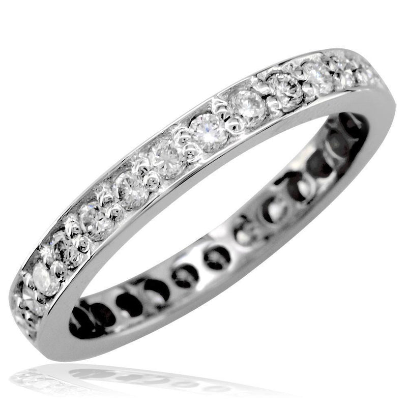 Diamond Band in 18K, 0.73CT