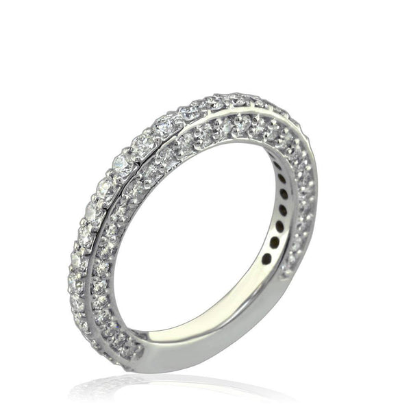 Matching Diamond Wedding Band in 18K E/W-Z39508W