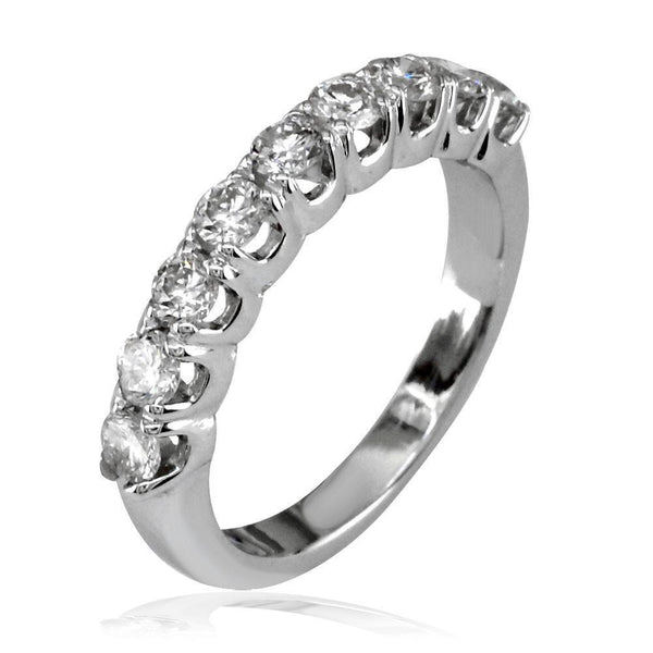 Ladies Round Diamond Band, 0.60CT Total