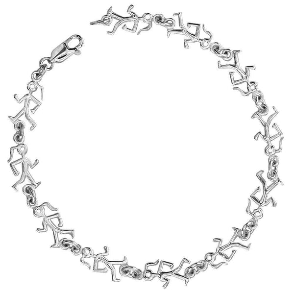 Lady Race Walker Bracelet in Sterling Silver
