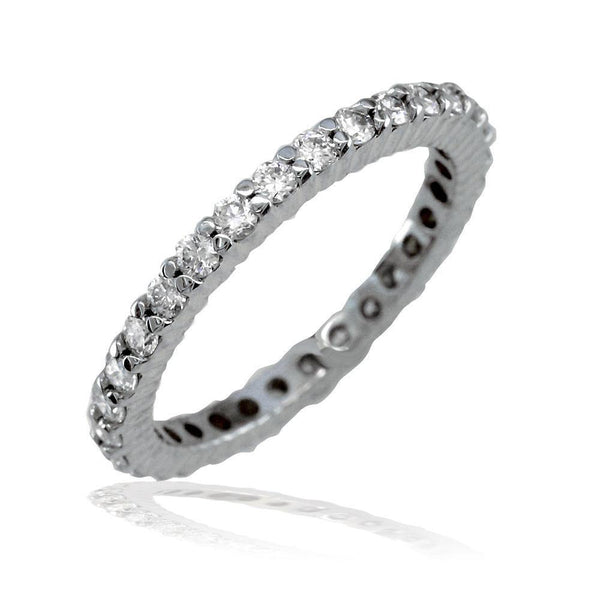 Round Diamonds Eternity Band in 18K, 0.78CT