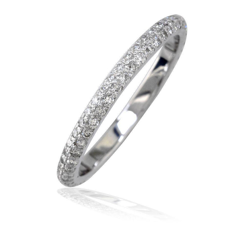 Sprinkles Diamond Wedding Band, 0.44CT