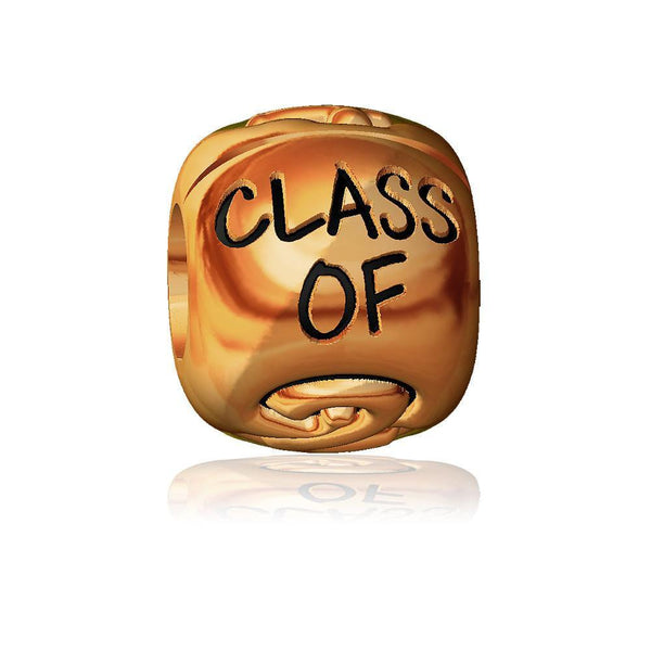 Class Of 2015 Bead in 14k Pink Gold