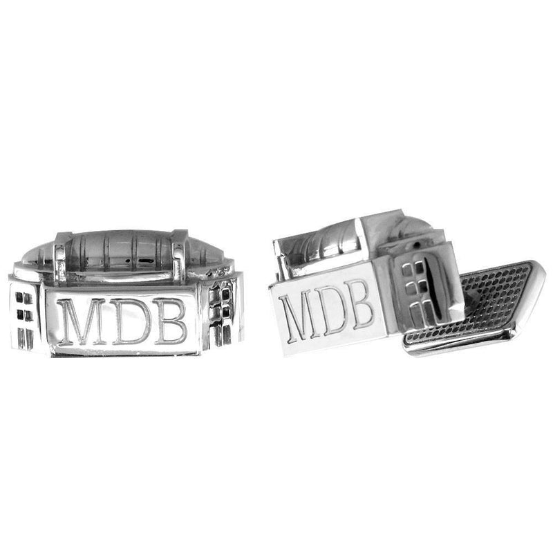Corporate Logo Cufflinks with Initials