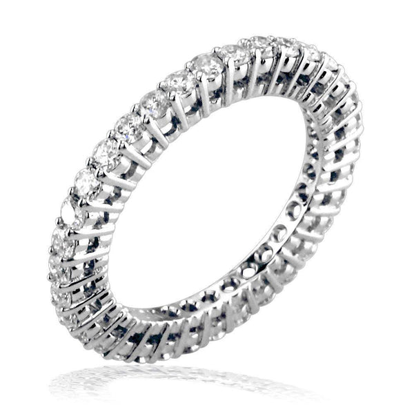 Round Diamonds Eternity Band E/W-K00148W-34