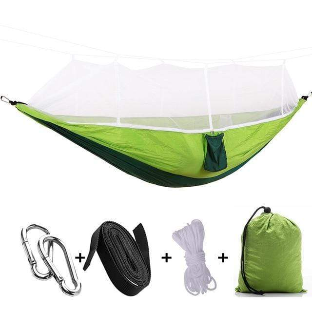 stupendous deals Fruite Green B 1-2 Person Portable Outdoor Camping Hammock with Mosquito Net by Stupendous Deals