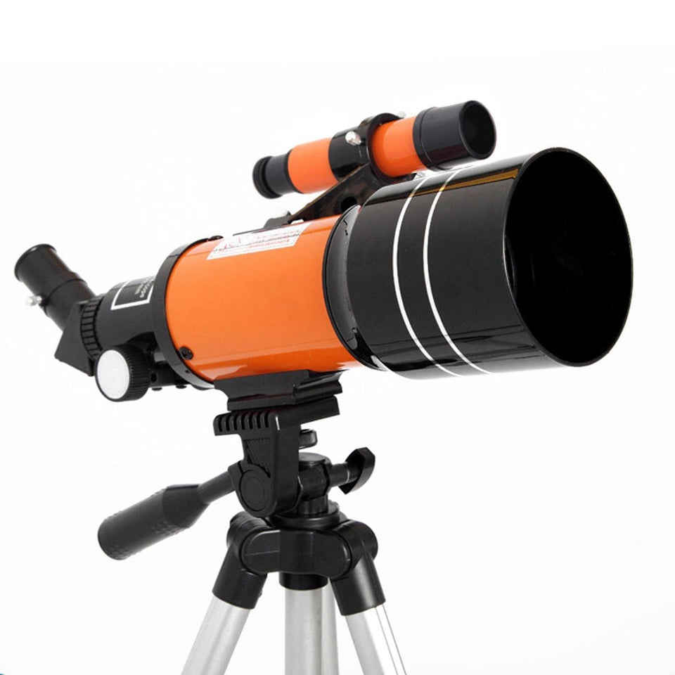 Impact Shop Telescopes Orange with long tripod Best Telescope for Kids and Beginners with Adjustable Tripod HD Night Vision