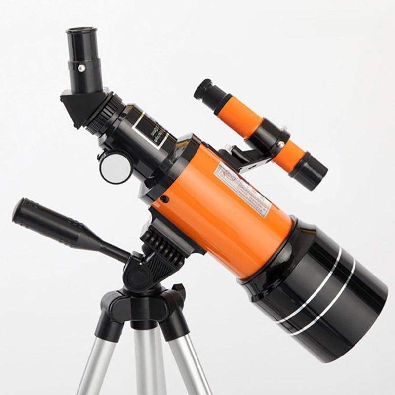 Impact Shop Telescopes Orange with short tripod Best Telescope for Kids and Beginners with Adjustable Tripod HD Night Vision