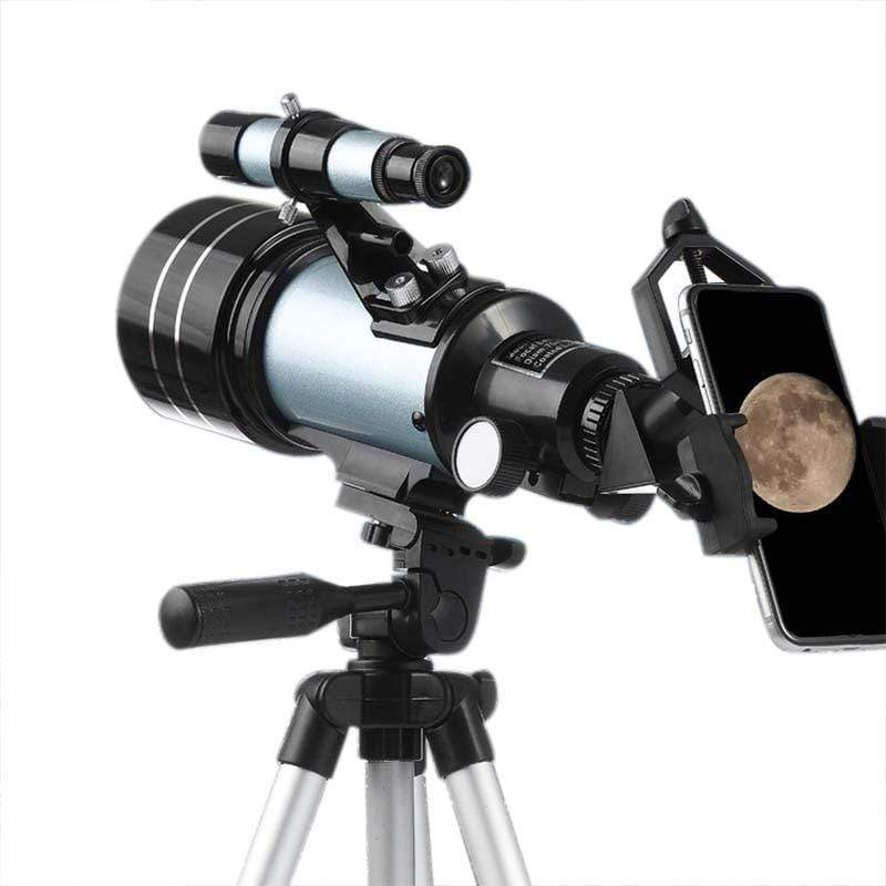 Impact Shop Telescopes Silver with long tripod Best Telescope for Kids and Beginners with Adjustable Tripod HD Night Vision