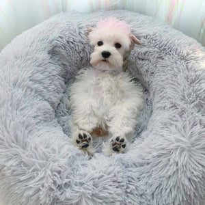 impact-wireless Calming Anti-Anxiety Comfy Dog Bed By Impact Shop