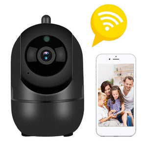 Impact Shop Black Home Security Baby Monitor Camera- Fully Fledged Wireless Monitoring System With Night Vision