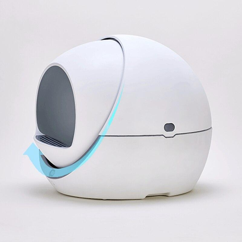 Impact Shop automatic self cleaning litter box New Arrival 2020 Automatic Self Cleaning Smart Cat Litter Box Closed Detachable