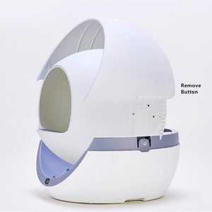 Impact Shop automatic self cleaning litter box New Arrival 2020 Automatic Self Cleaning Smart Cat Litter Box Closed Detachable By Impact Shop