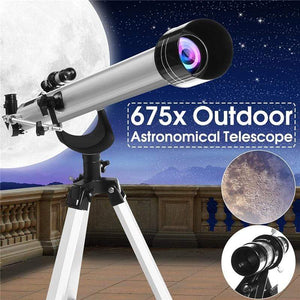 Impact Shop Telescope For Kids Professional Astronomical 675X Space Telescope For Kids/ Adult with Tripod