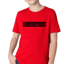 Clintus.tv Kids Tee