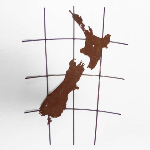Map of NZ out of Chocolate