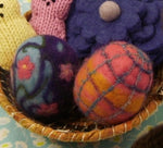 Needle Felted Easter Eggs, Sat. 3/20, 10:30am - 1pm